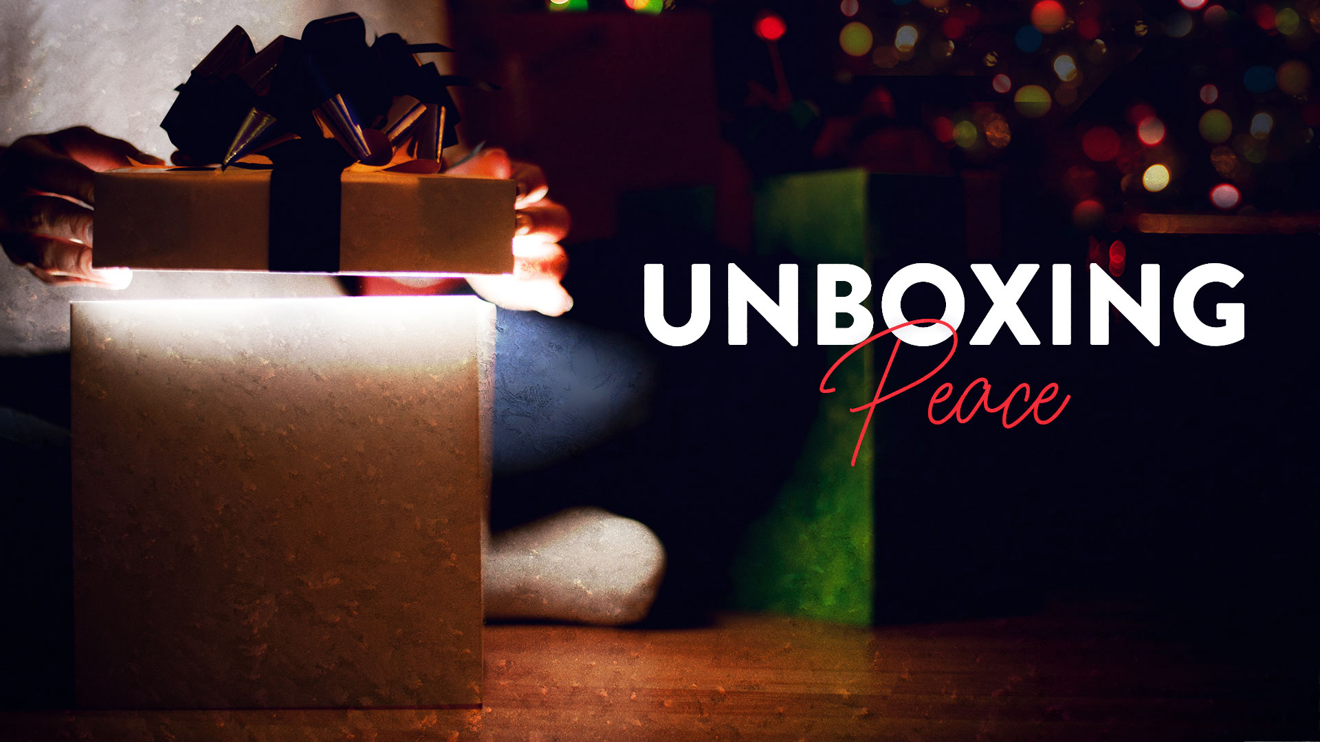 Unboxing Peace